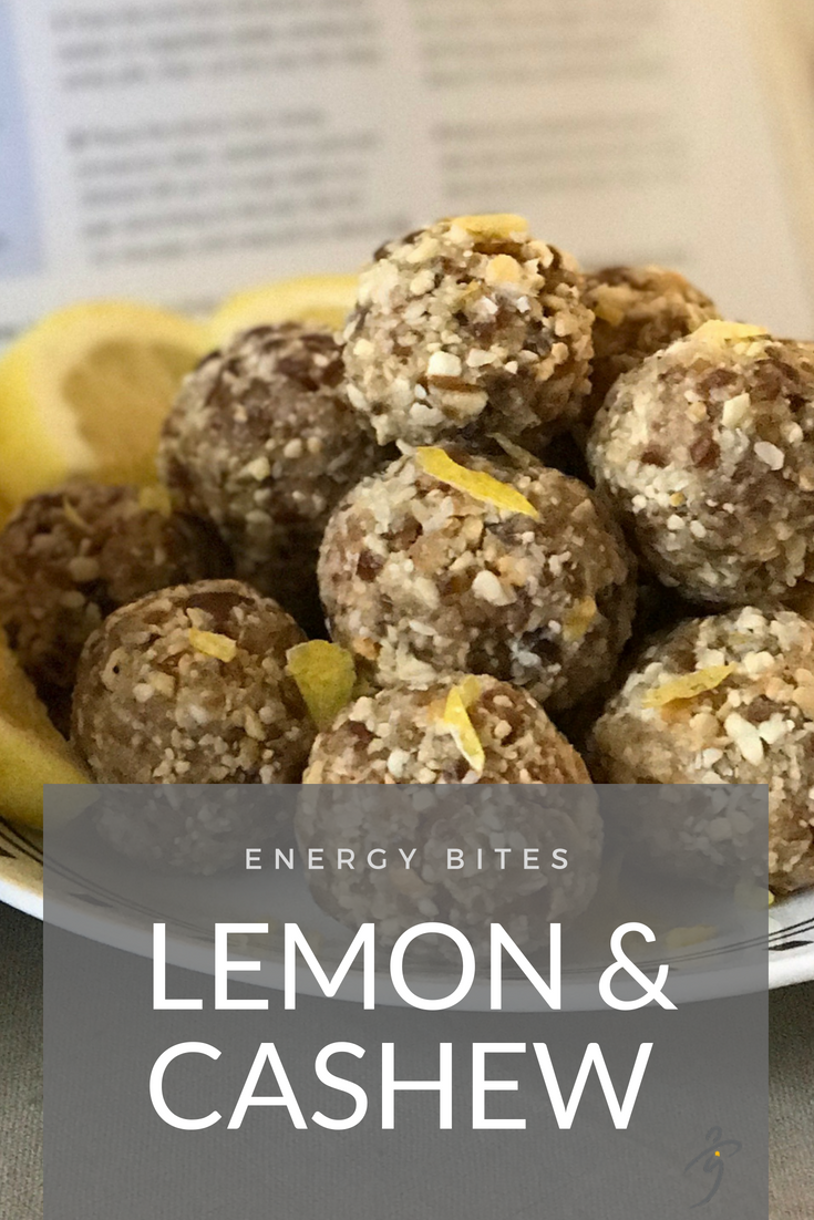 Lemon & Cashew Energy Bites)
