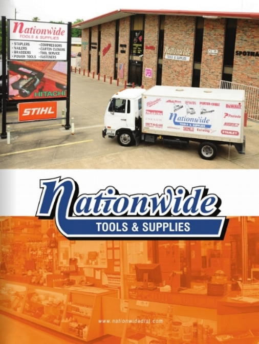 Our recent promotional catalog,designed by District Publishing. Click the image to read about all that Nationwide Tools and Supplies can offer you.