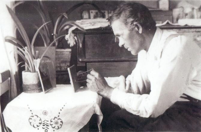 Peilipoika Armas Pasanen. Kuva: Hiljan yksityiskokoelma, kuvaaja Albert Rusila.