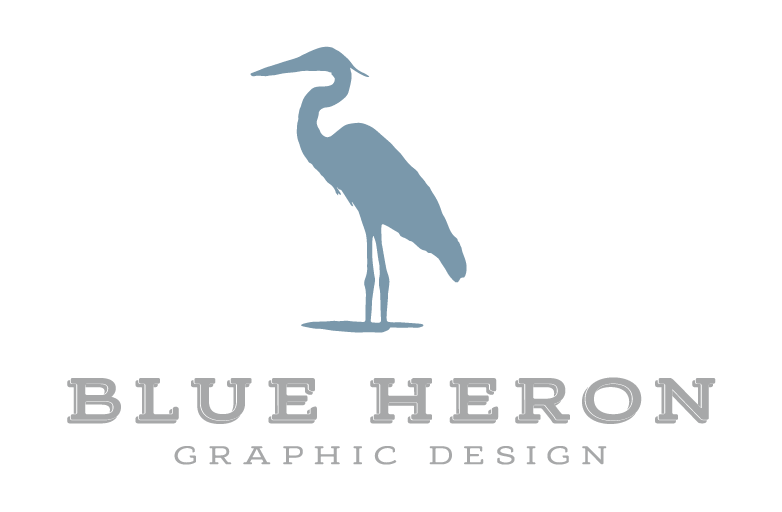 BLUE HERON GRAPHIC DESIGN