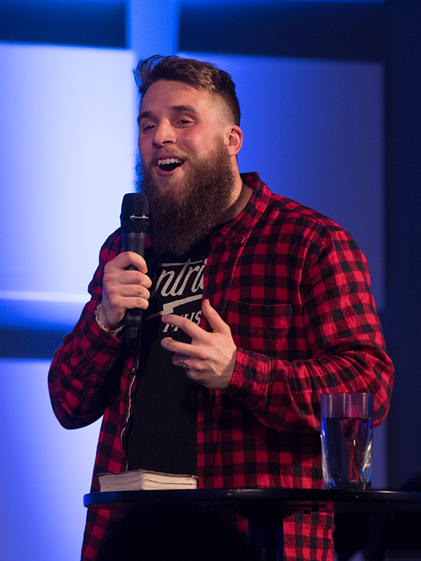 JOSHUA LUKE SMITH - Joshua and Kara Smith are from Bath City Church in England. Joshua is an internationally known spoken word poet and record label founder. He is fast becoming an inspired and important voice for his generation.