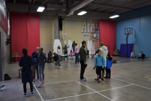 Over 150 parents, students, and staff joined us for various activities in the gym.