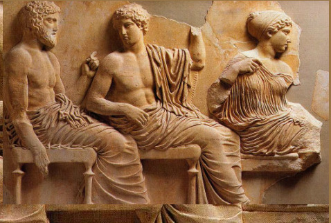 greek relief