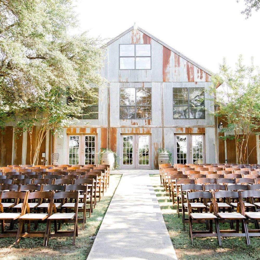 vista west ranch Austin wedding venue