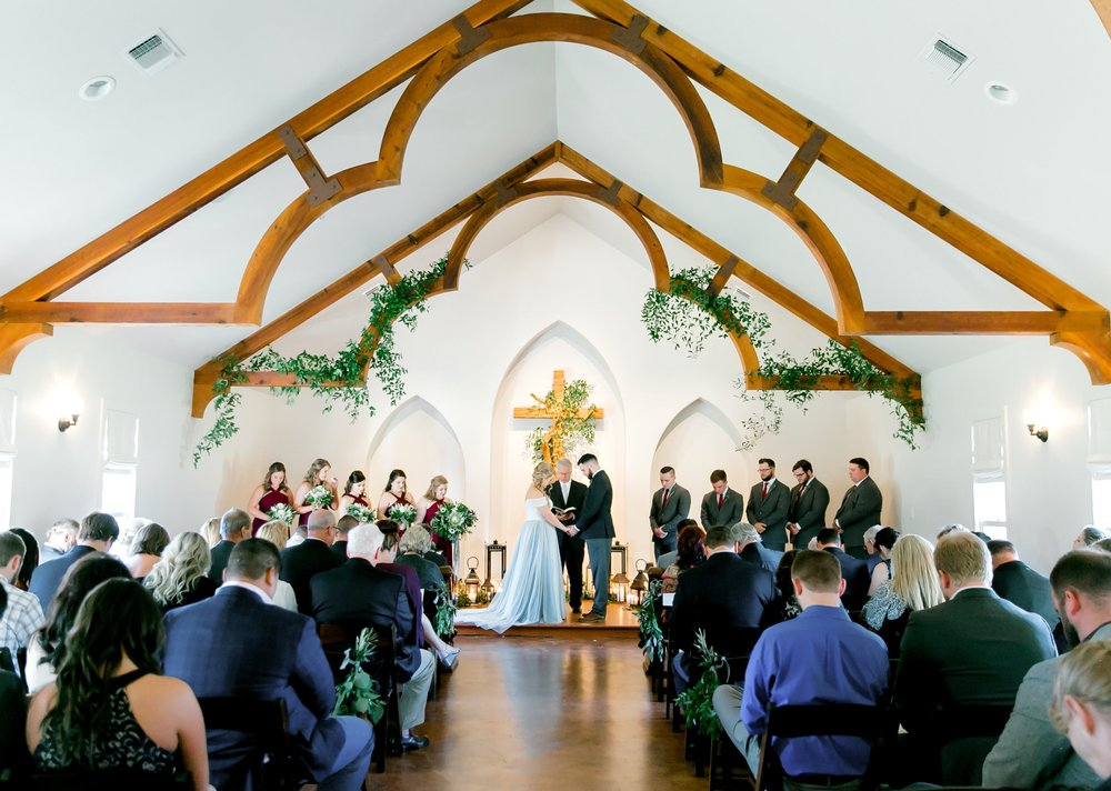 Heritage Haus hill country wedding chapel