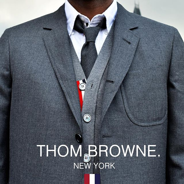 Introducing - Thom Browne  Highly acclaimed New York Designer famed for his tailoring with an edge. Initially shocking to the fashion world, his designs have placed him at the vanguard of menswear.  Discover the collection now at 6AM  #6amstores #fashion #thombrowne #menswear