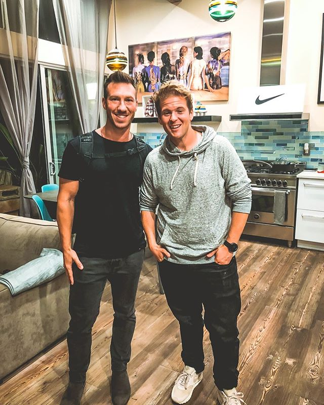 So proud of my boy @charlie and what he's doing with @nike and his journey to inspire others! From having a brain tumor and weighing 305lbs to biking across America and training for the Boston marathon! @charlie you are such a huge inspiration in my life and I'm thankful for our friendship! Love ya buddy! 🚀