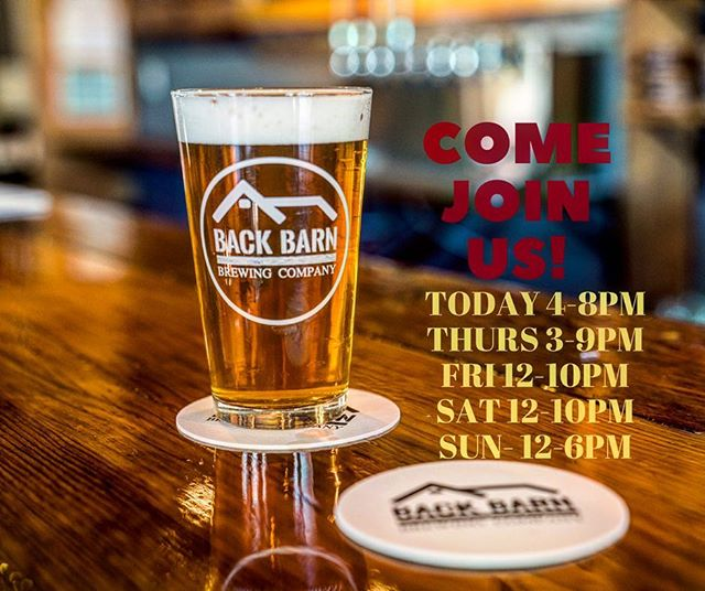 Excited to introduce some new brews on tap and a couple more in the works.  Come see us. We've also got some more @capcraftbevtrail passports in the barns if you haven't got yours yet.  This Saturday we'll be having the wonderful folks from @elektrikcityeats518 serving up the grub. 🍻  #drinklocal #brewery #beer