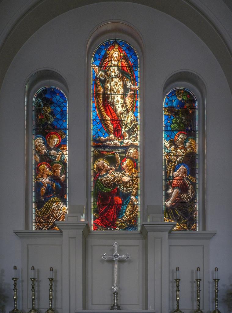 Tiffany Glass Windows at St. George Church