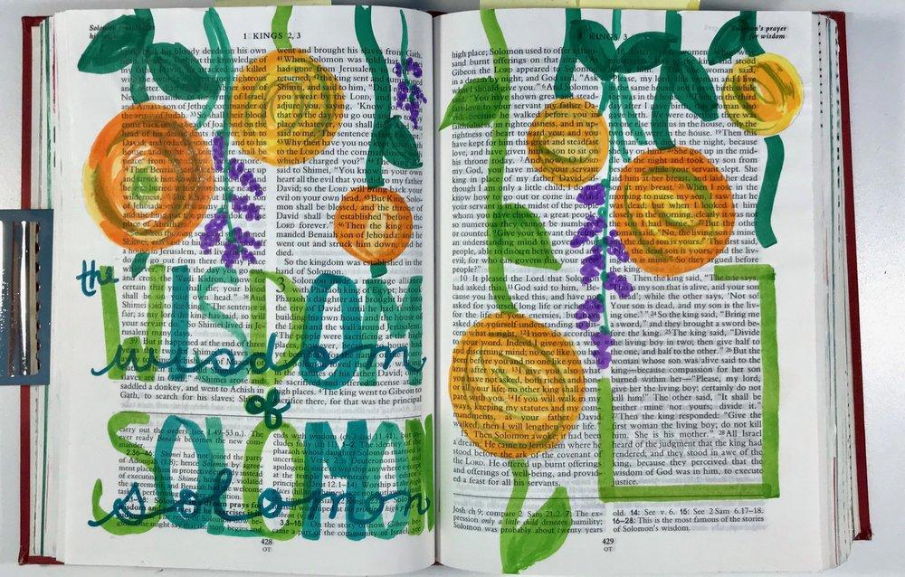 I Kings 3: 23-28 | Marker