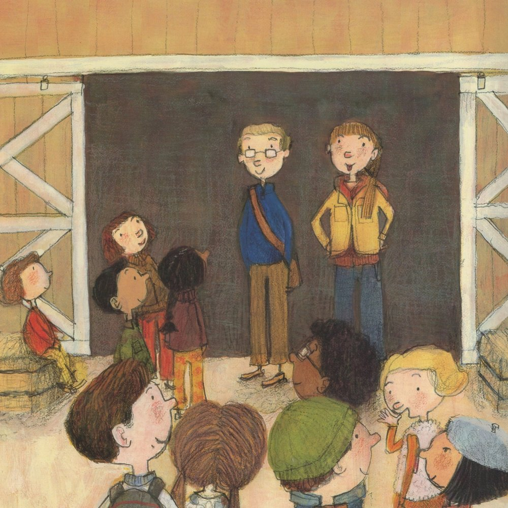 The Apple Orchard Riddle   | Illustrated by G. Brian Karas
