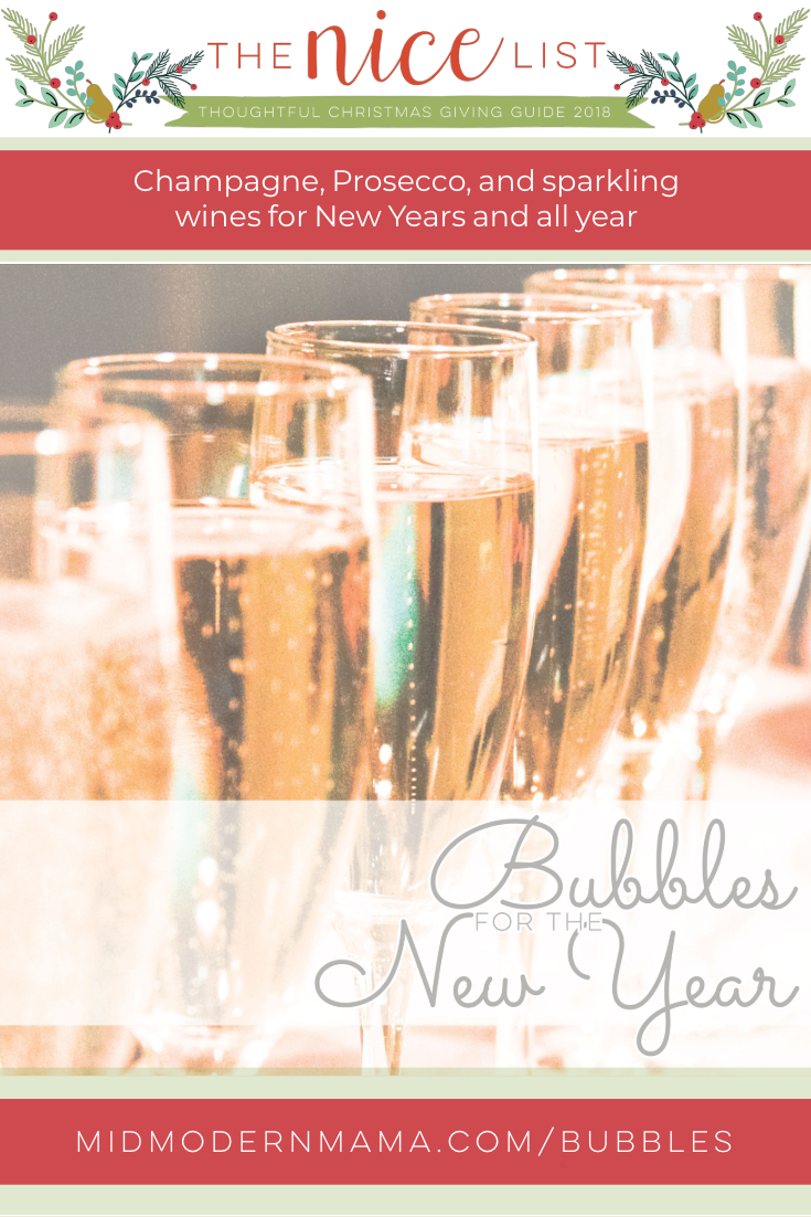 Bubbles for the New Year