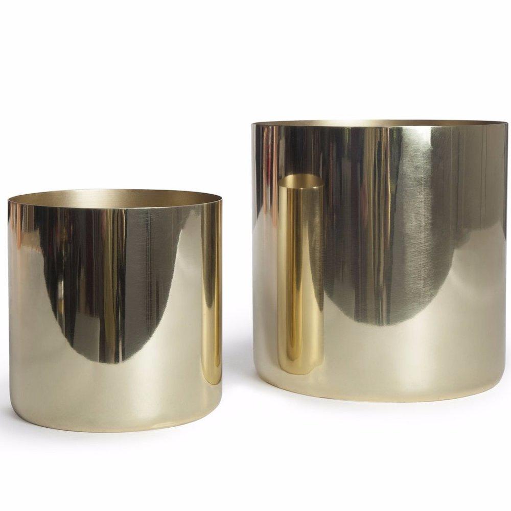 Brass Cachepots , Burke Decor | $50 - $120