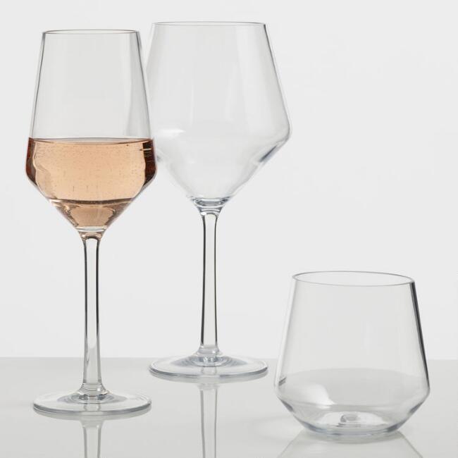 Napa Tritan Glassware , Cost Plus World Market | $25 - $30