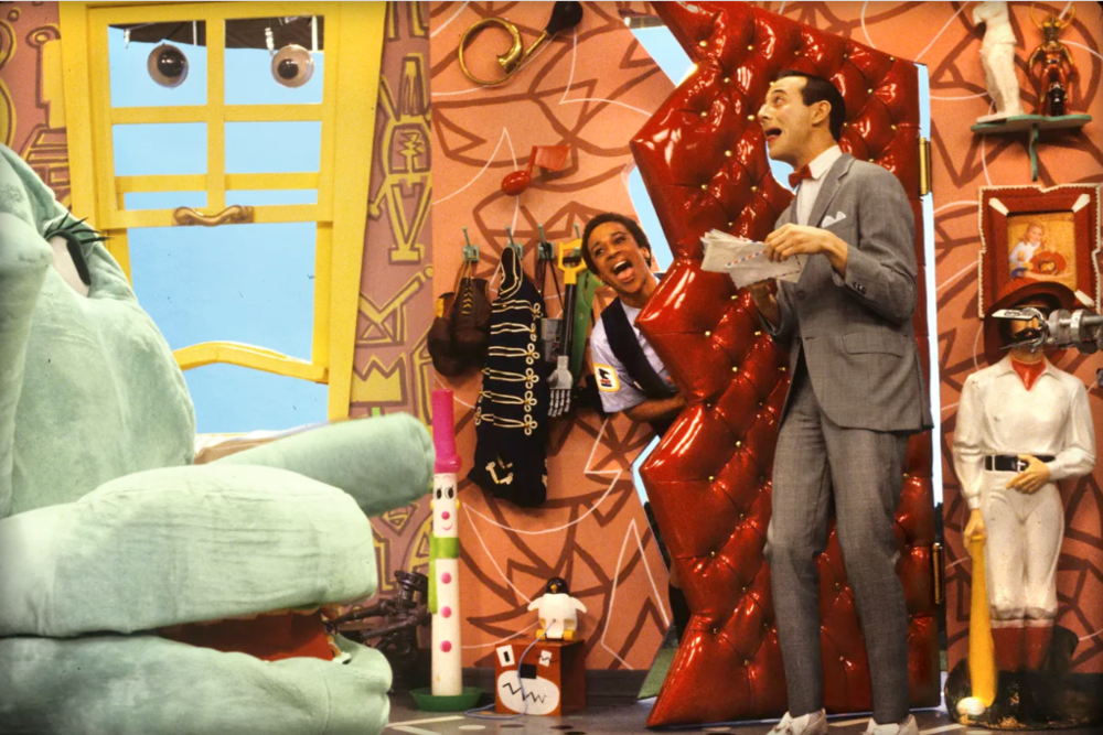 1980's: Memphis Milano influences in Pee Wee's Playhouse