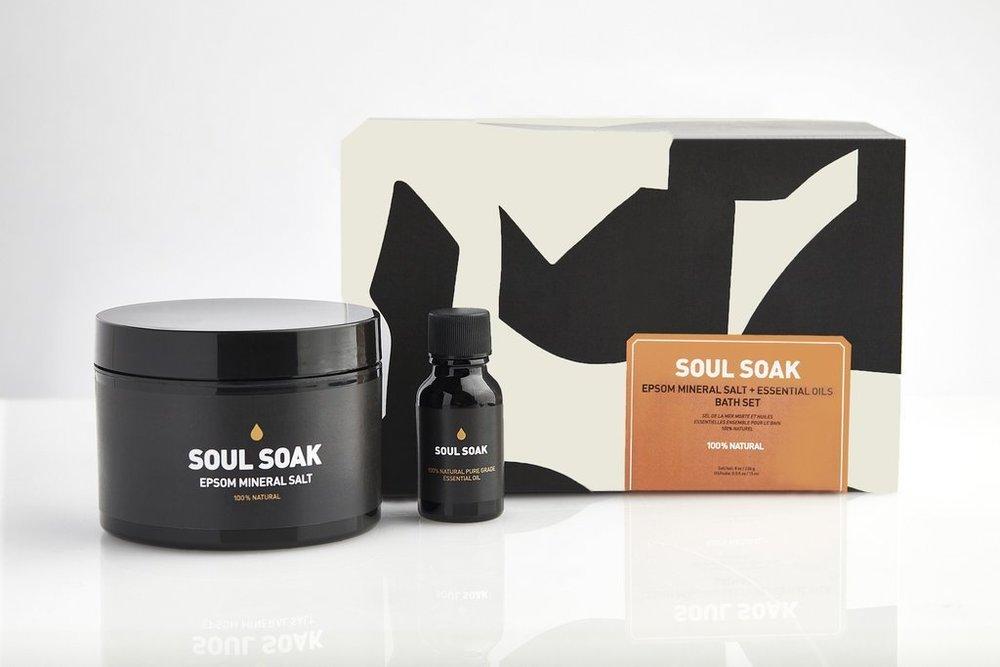 Soul Soak Bath Kit , Burke Decor | $39