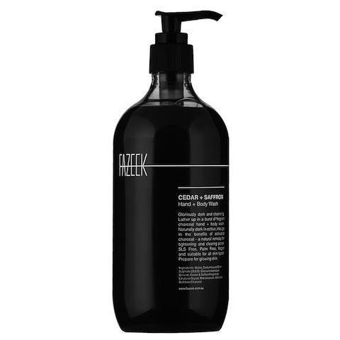 Activated charcoal hand and body wash , Burke Decor | $32