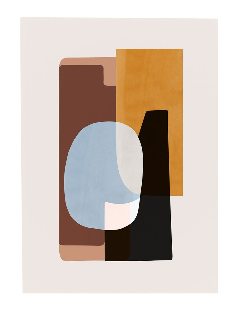 Abstraction poster , Burke Decor | $35