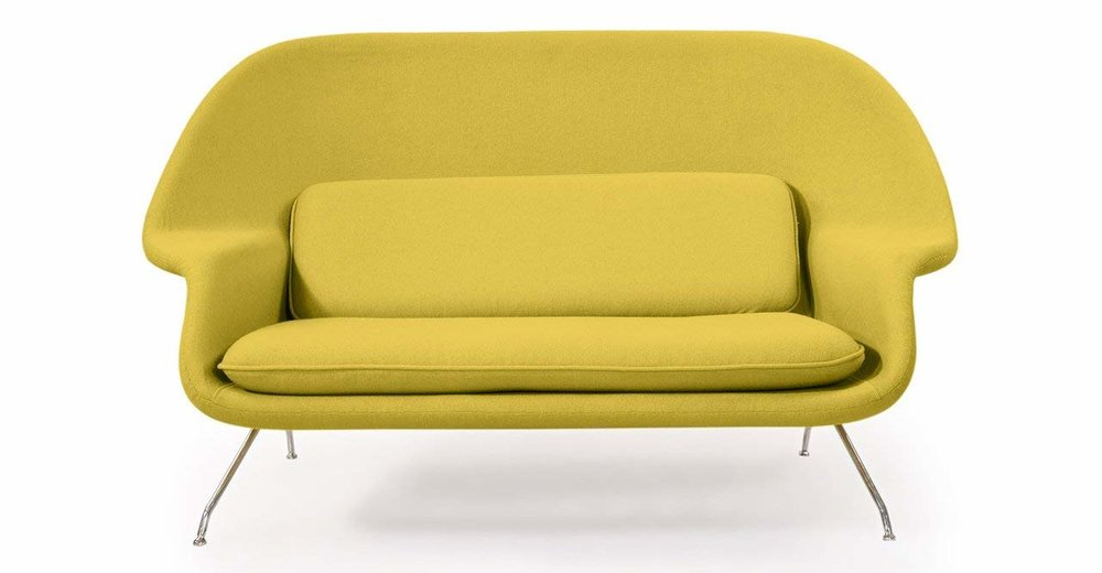 Womb Loveseat , Amazon | $1,145  and free shipping!