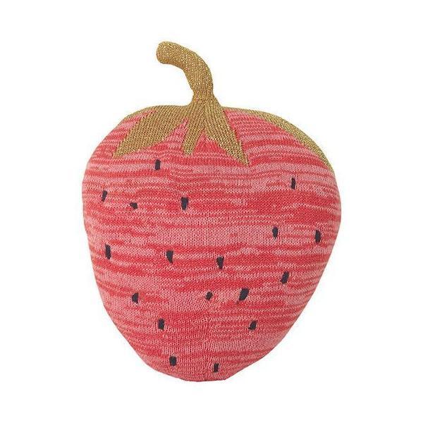 Strawberry Pillow , Burke Decor | $65