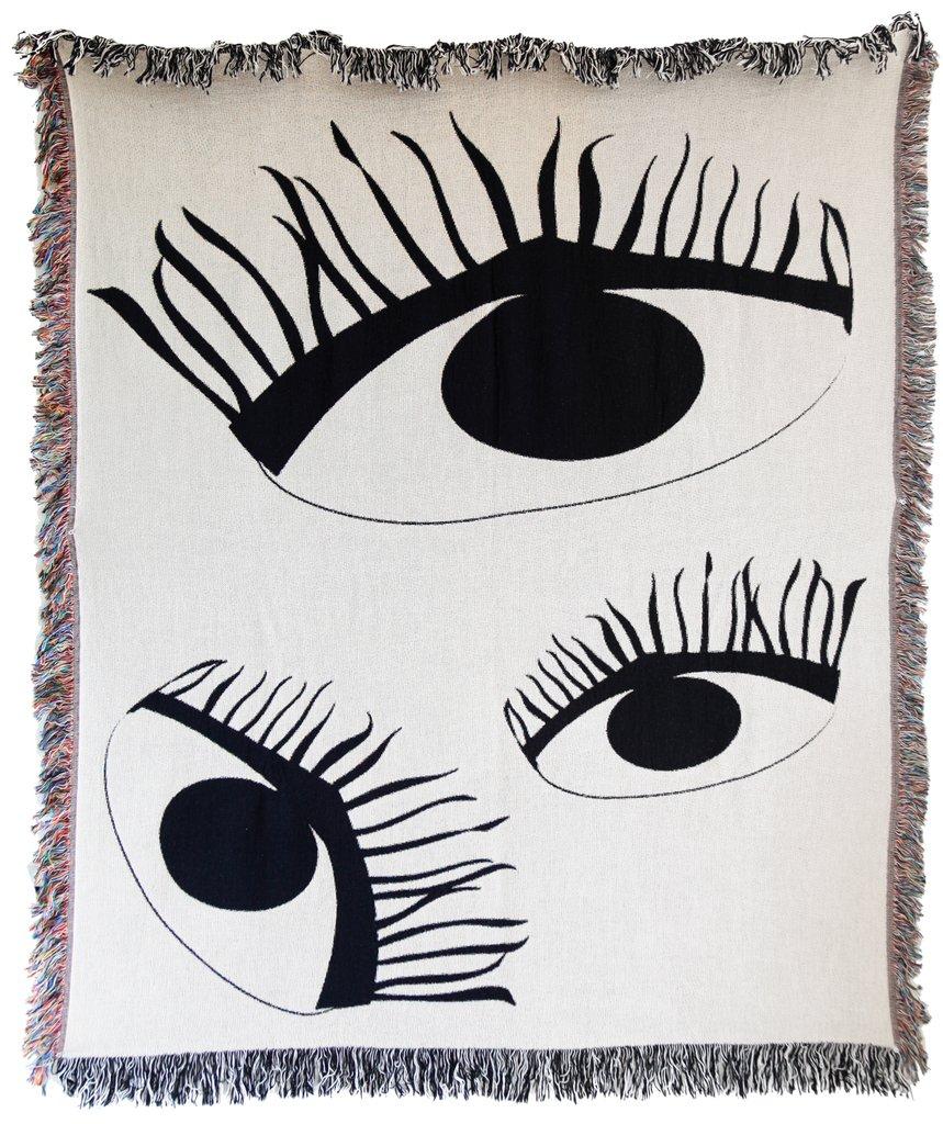 Third Eye Woven Throw , Burke Decor | $95