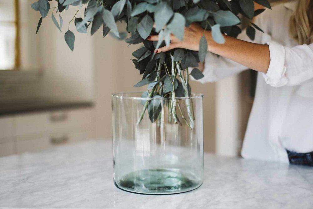 Hurricane Vase , Newly | $56