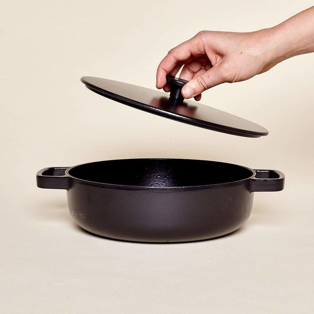 Cast Iron Saute Pan , East Fork | $190