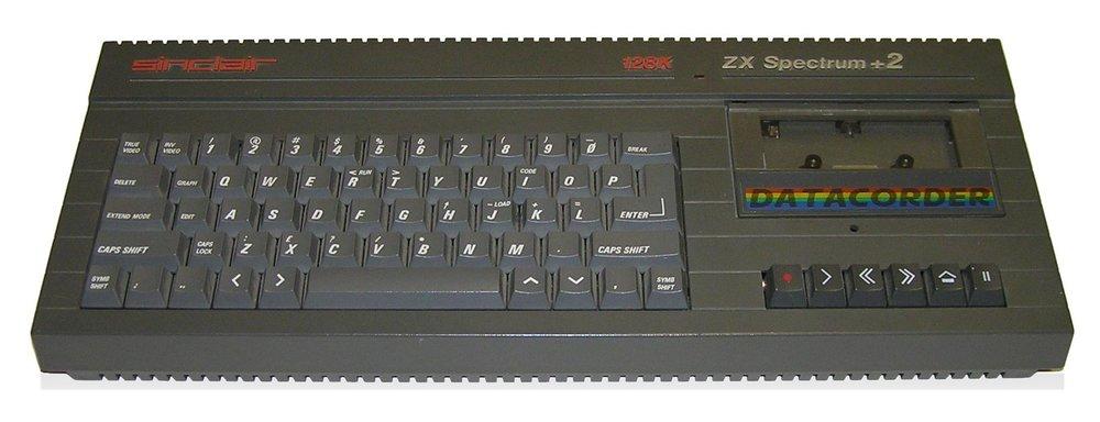 ZX Spectrum +2, public domain image