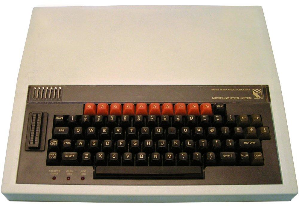 BBC Micro, public domain image