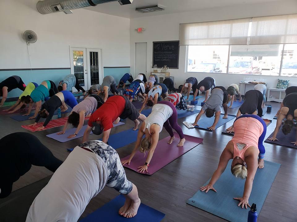 Yoga at Verve.