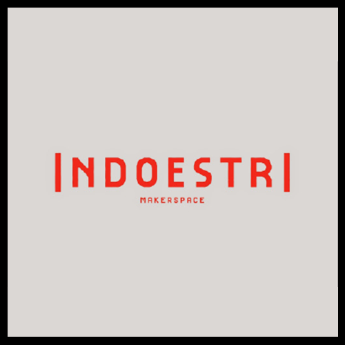 INDOESTRI - Indoestri is an accessible and innovative 2000 m2 makerspace located in Jakarta. Indoestri provides a wide variety of tools and machinery to equip people in exploring in four of their focused disciplines: Textile & leather, metalworking, woodworking and surface. Their goal is to provide the resources, education and community for creative minds to make, invent, prototype and explore without boundaries.ON THE WEB:Website | Instagram | Facebook