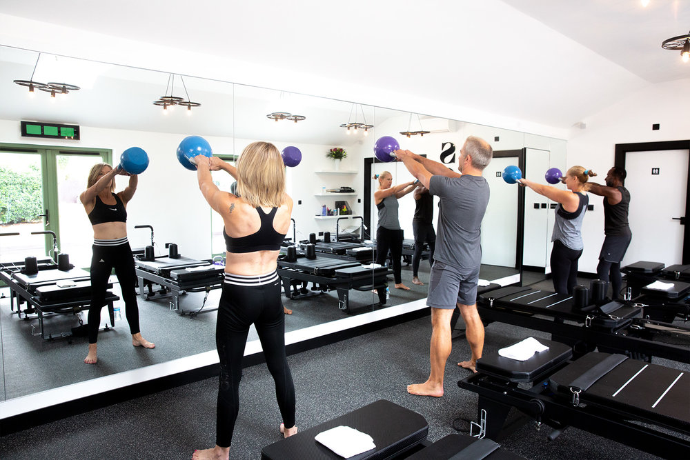 Kettlebell pilates - Added kettlebell intervals bring a more athletic, energising and dynamic boost to the signature class (Dynamic Pilates) on the 'Powerformer'. Improving overall strength, joint health and cardiovascular fitness.Be the strongest and fittest you've ever been!