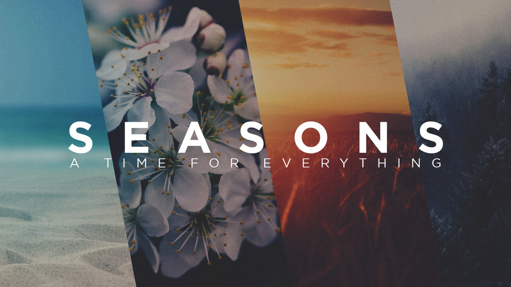 Seasons: A Time for Everything - Rediscovering the purpose and meaning that exists in the seasons of our souls