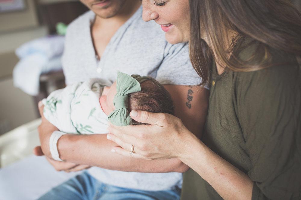 Newborn hospital fresh 48 Session Cara Peterson Photography Rockford IL-16.jpg