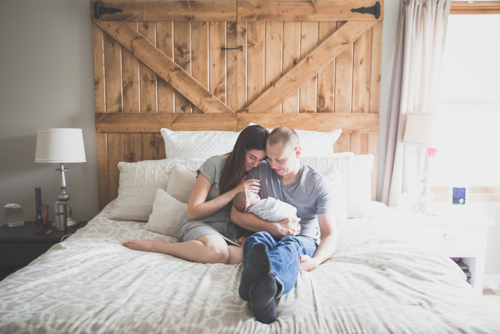 Newborn lifestyle maternity studio Session Cara Peterson Photography Rockford IL-8.jpg