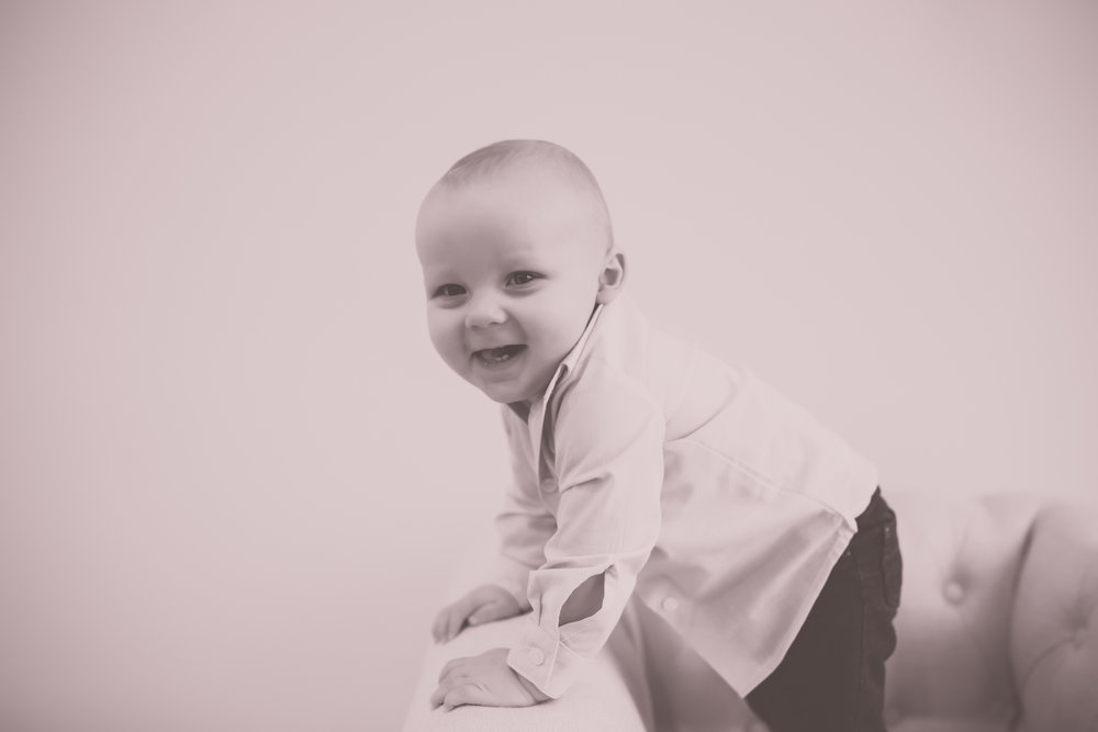 Cade 1 Year Old Cake Smash Milestone Session Cara Peterson Photography Rockford IL -9.jpg