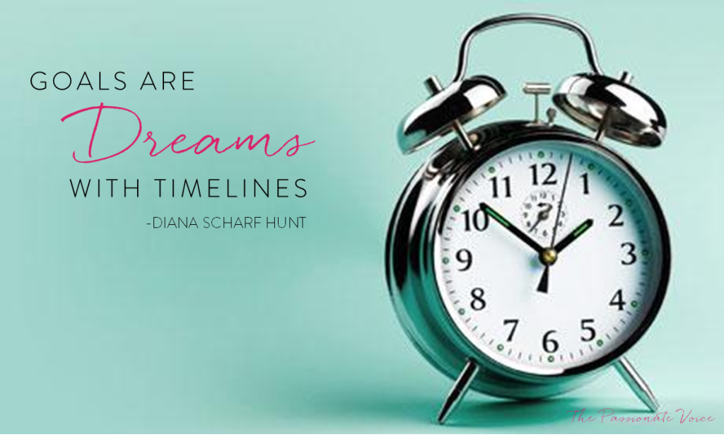 Goals are Dreams with Timelines