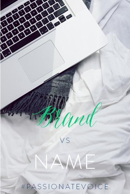 Brand vs Name