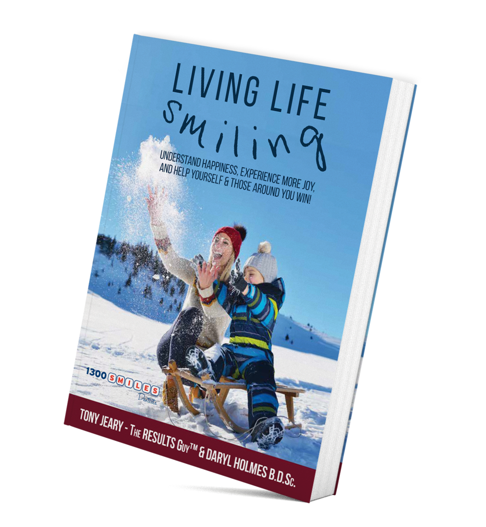 Living Life Smiling Book Cover