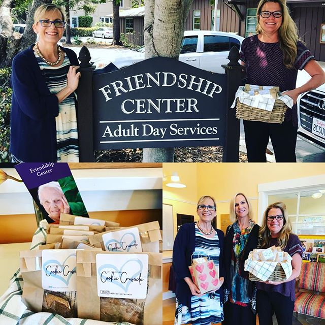 Friendship Center of Montecito was an incredible visit today.. So many happy faces. Thank you Heidi for your warm welcome. #montecitostrong #marisaholly #sbcookiecrusade