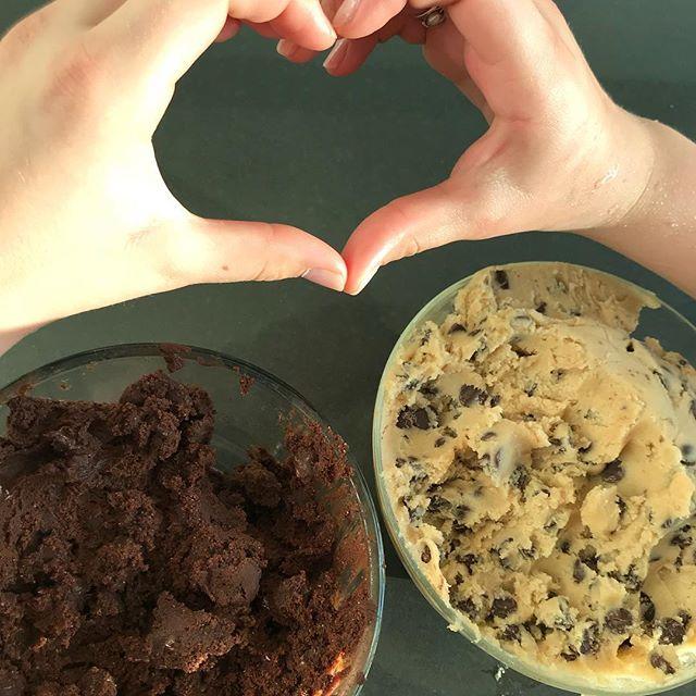 Ready, set, bake!!!! #brookies #welovesantabarbara