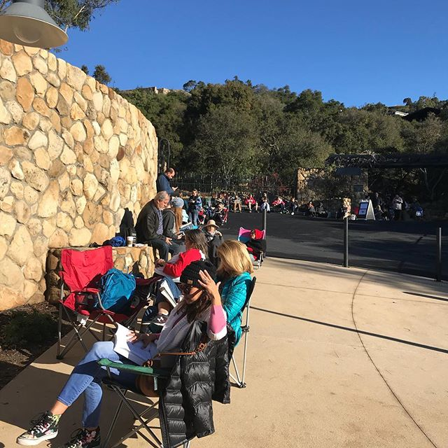 Waiting in line for Katy Perry tickets!!! Cookie Crusade in full bloom. #katyperry #montecitostrong #thankyousantabarbara #sbbowl #beautifulmorning