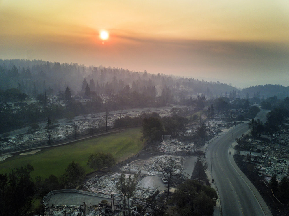 Tubbs Fire, October 2017