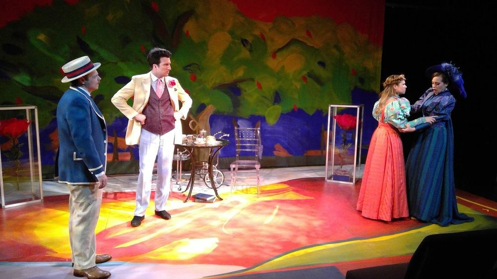 The Importance of Being Earnest,  Savannah Repertory Theatre, 2017. Dir. Ken Neil Hailey.