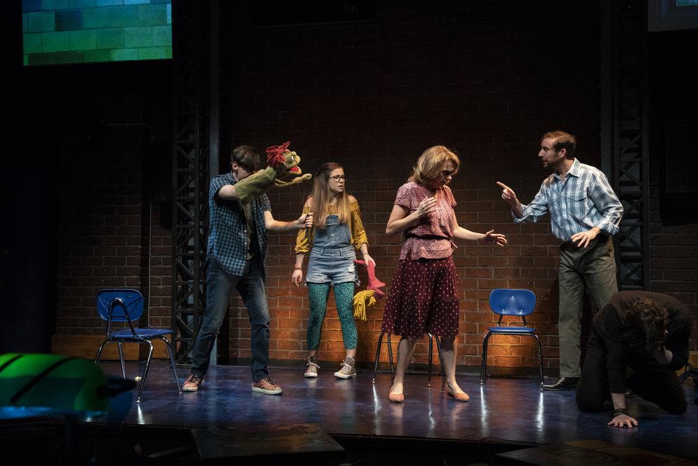 Hand to God,  Florida Studio Theatre, 2019. Dir. Jason Cannon.