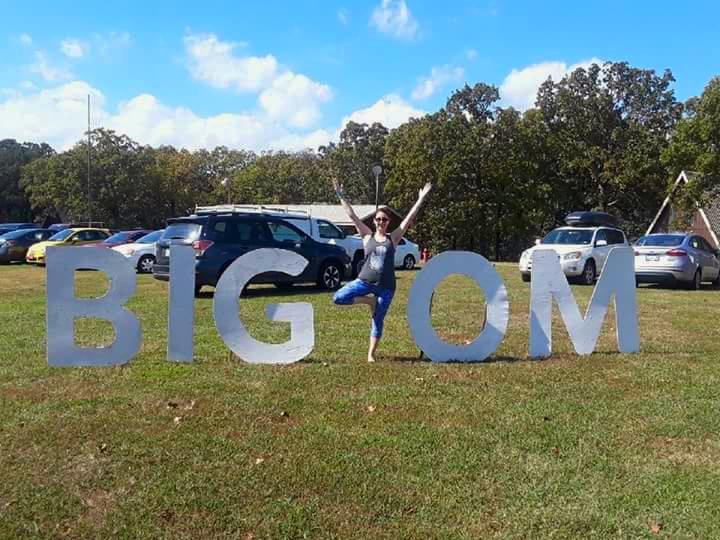 Anna at  Big Om Yoga Retreat