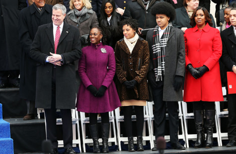 Bill De Blasio Sworn In As New York City Mayor