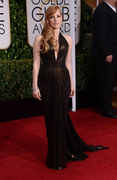 Jessica Chastain_GoldenGlobes_2015