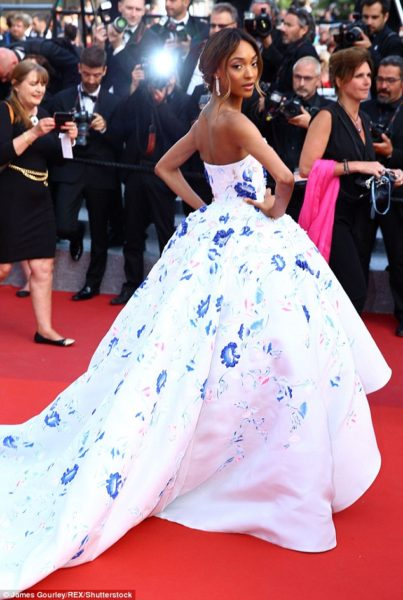 Jourdan Dunn Cannes