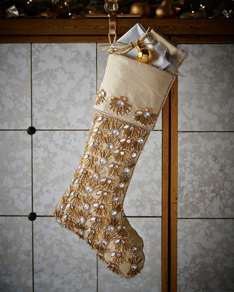 This suggests that indeed care was taken when this stocking was hung by the chimney.